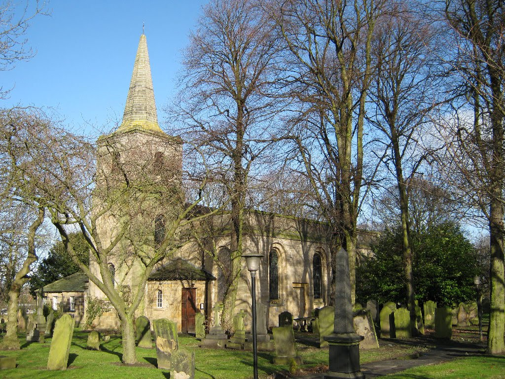 St Nicholas Church Gosforth