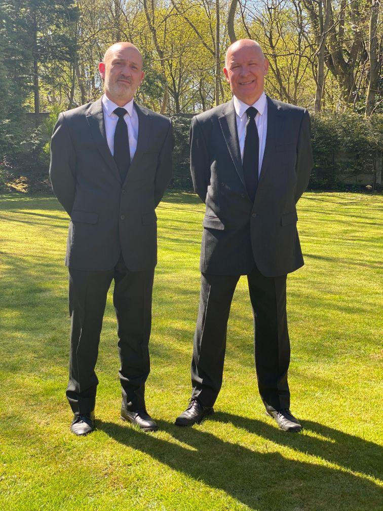 Nigel and Philip